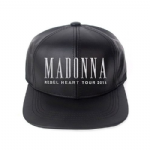 REBEL HEART TOUR - BLACK LEATHER CAP